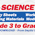 SCIENCE Learning Materials from LRMDS (Grade 3-6) Free Download