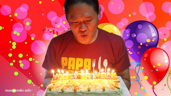 Papa Eats Birthday