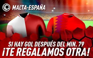 sportium Promo Malta vs España 26 marzo 2019
