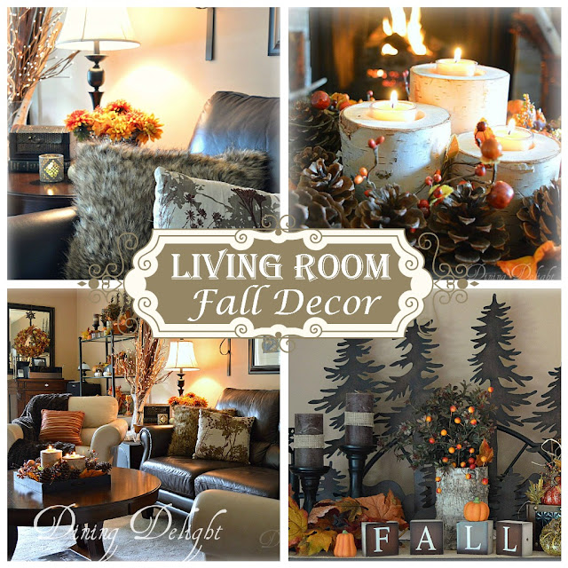 Fall Living Room Decor. Living Room Fall Decor Dining Delight  Inspiration for