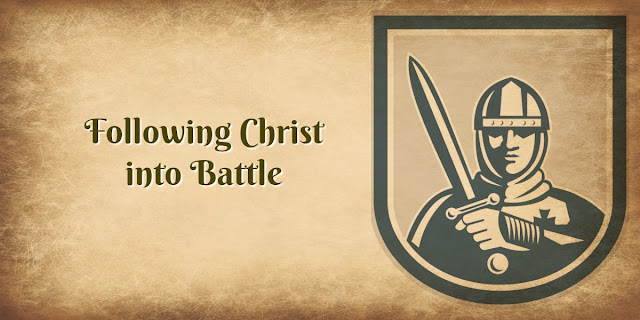 "When we follow Jesus, we are called to these 5 ""Rules of Battle."" This 1-minute devotion explains. #BibleLoveNotes #Bible"
