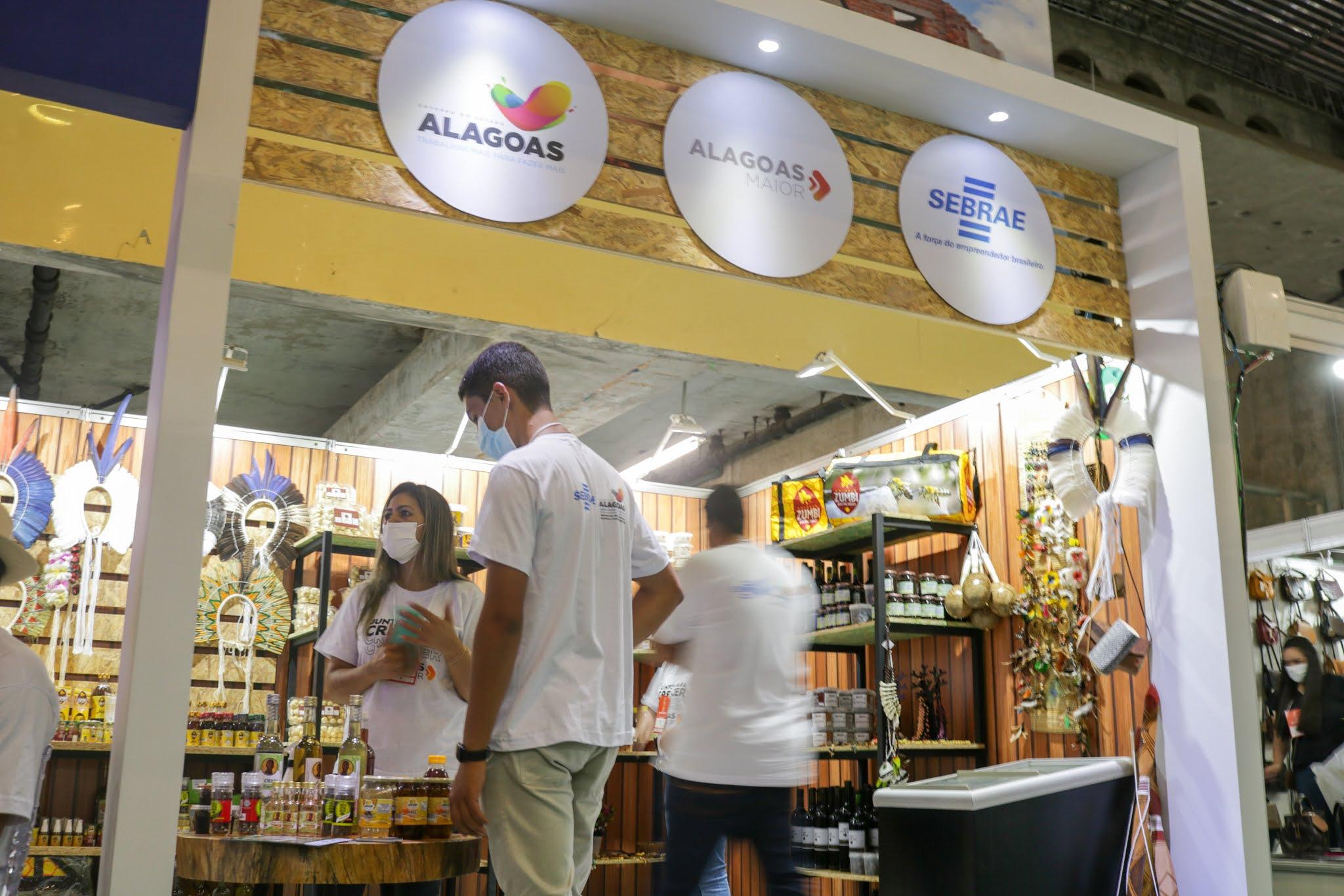 Produtos apoiados pelo Alagoas Maior são comercializados em Pernambuco