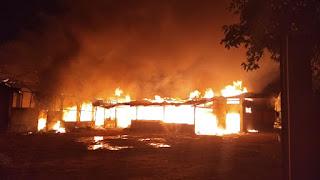 Gudang Popok Bayi Di Pronggol Kota Cirebon Terbakar