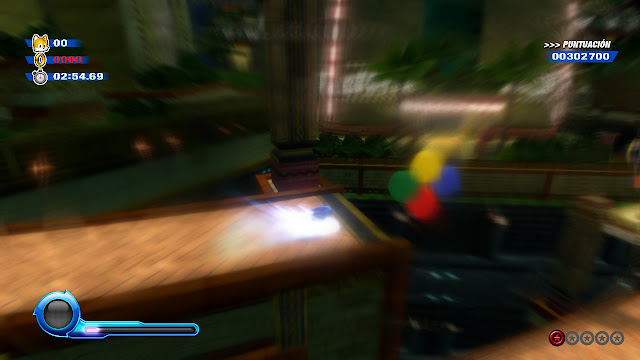 Sonic Colours Ultimate - Velocidad