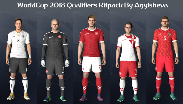 PES 2017 Worldcup 2018 Qualifier Pack Update By Agylsheva