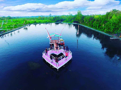 Lokasi Telaga Kermata Saronggi Sumenep Jawa Timur