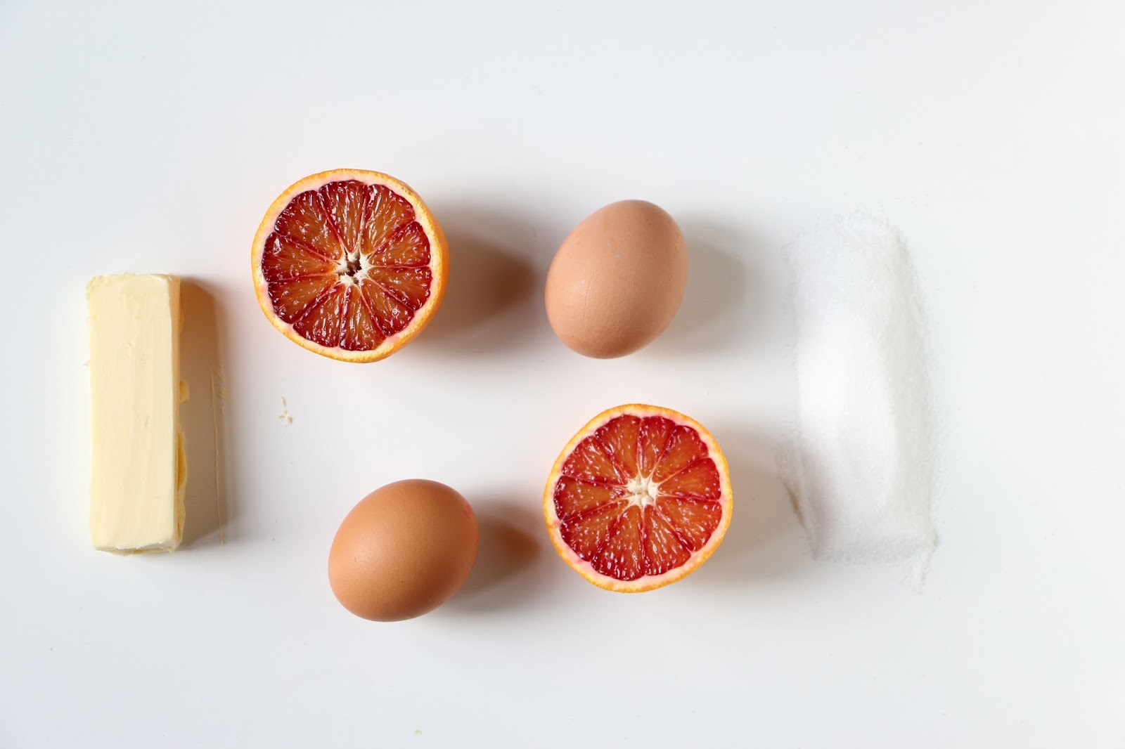 ingrédients recette curd oranges sanguines