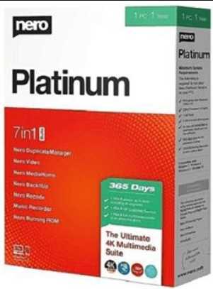 Nero Platinum 2020 Suite v22.0.02400 poster box cover
