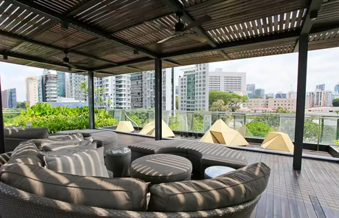 145A Moulmein Serviced Apartments - Sky Lounge
