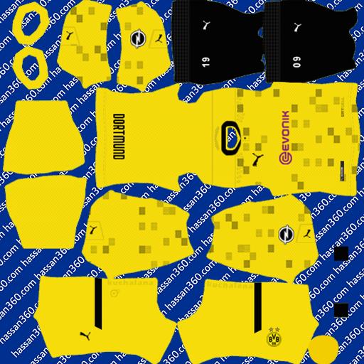 Borussia Dortmund Kits Dls 2021 Dls 21 Kits And Logo