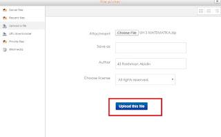 Panduan Upload Soal E Learning SMA Negeri 5 Purwokerto - mazzajie