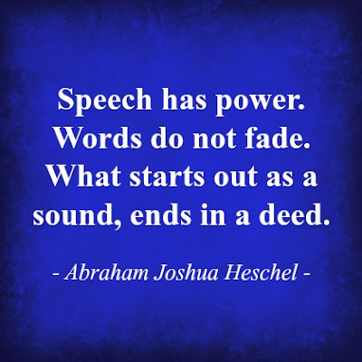 Speech has power