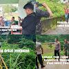 Kapolsek Moncongloe Bersama Pasi Intel Yon Zipur VIII, Meninjau Lokasi Rencana Penanaman Pohon Vetiver