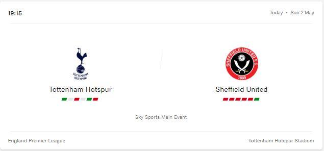 Tottenham Hotspur vs Sheffield United Preview and Prediction 2021