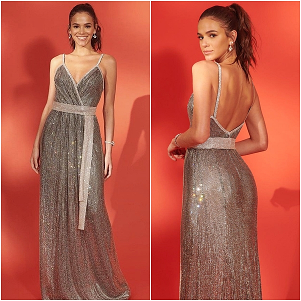 look bruna marquezine leilão instituto neymar