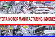 Lowongan Kerja PT. Toyota Motor Manufacturing Indonesia (TMMIN) Tingkat SMA/SMK Bulan September 2016