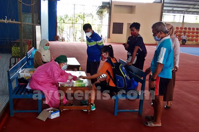 Terapkan Protokol Kesehatan, Turnamen Tenis Bupati Cup Pati Digelar Mulai Hari Ini