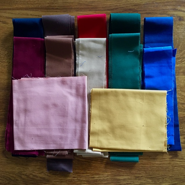 Fabrics leftovers