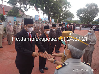 Gubernur Jambi Di Daulat Jadi Irup Peringatan HUT Ke-61 ATR/BPN