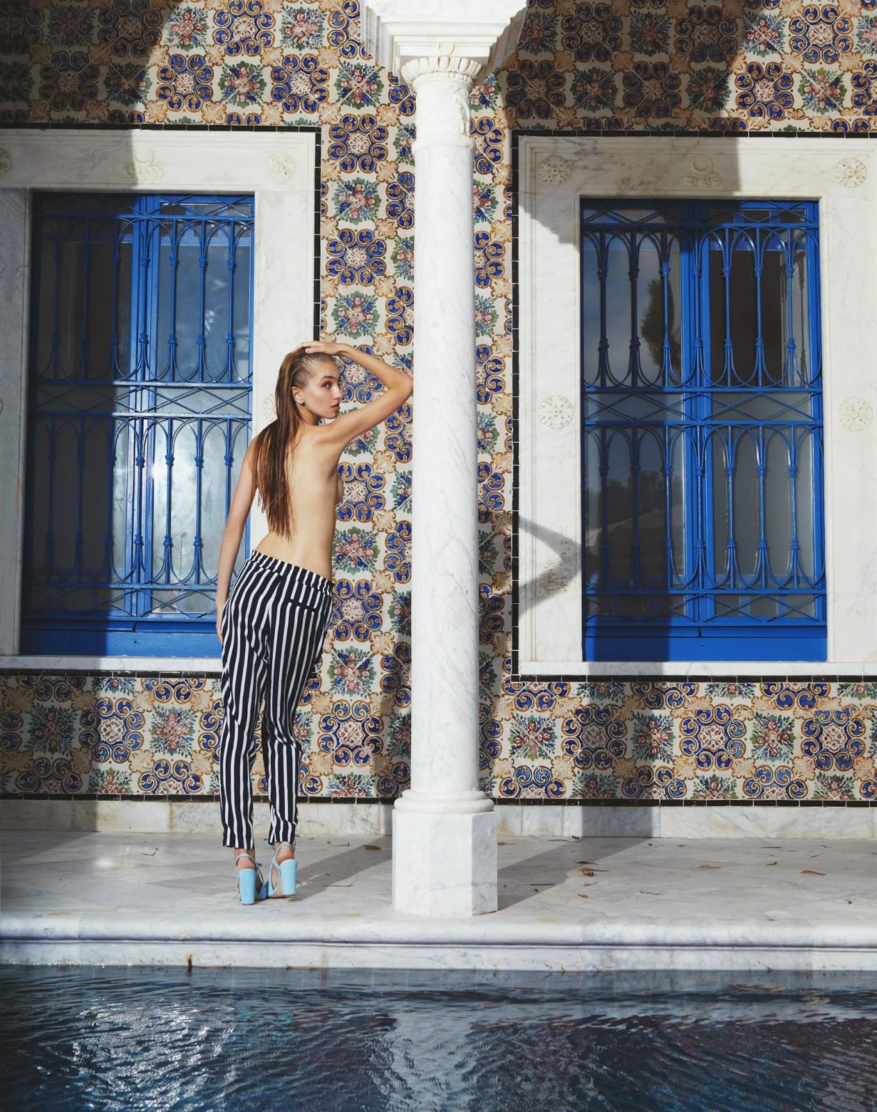 Mannequin tunisie sidi bousaid for Mannequin piscine