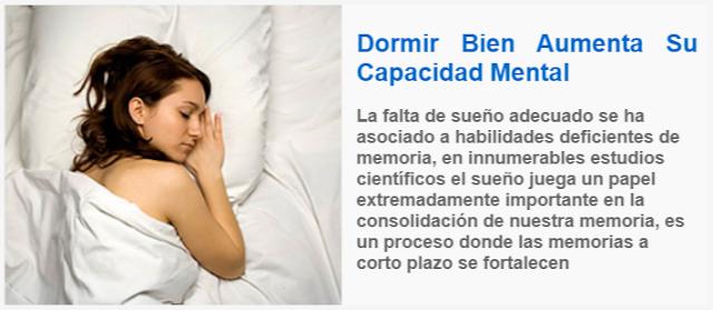 Dormir Bien Aumenta Su Capacidad Mental