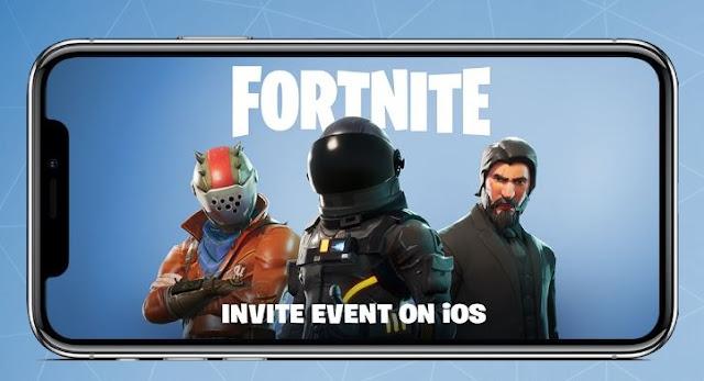 Fornite enviará invitaciones para IOS