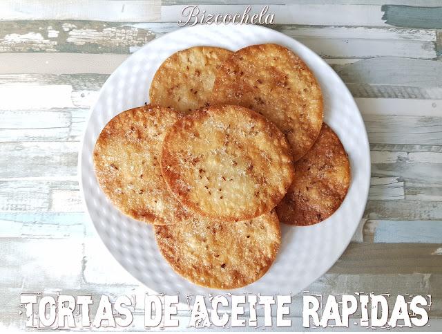 TORTAS DE ACEITE RÁPIDAS