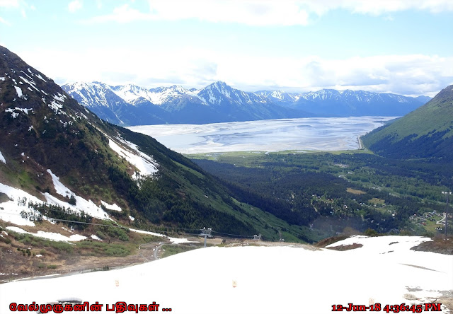 Mount Alyeska Turnagain Arm View