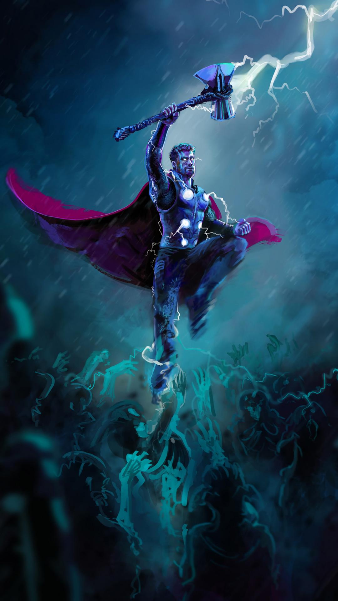 Thor Stormbreaker Axe Lightning