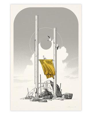 "Matthew Woodson's SOFA Con Exclusive ""LCM"" Screen Print Series"
