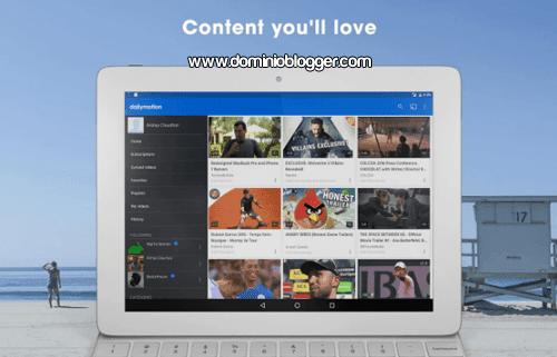 App Dailymotion para Android