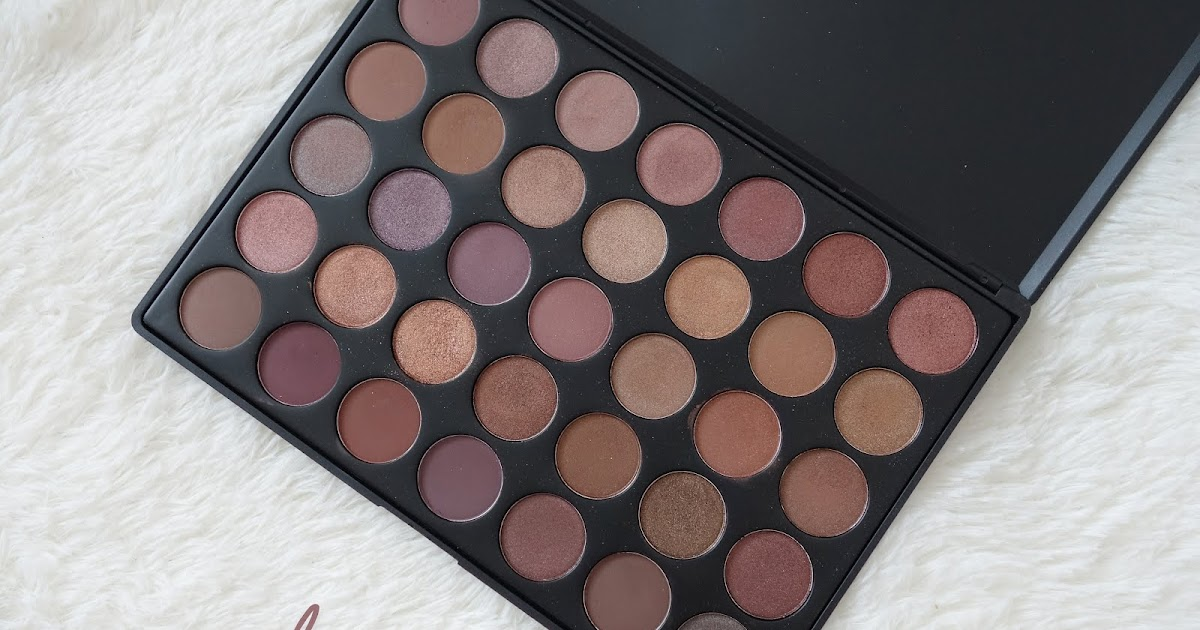 Morphe Brushes 35t Palette Review And Swatches With Makeup Look Xueqi S Beauty Episode