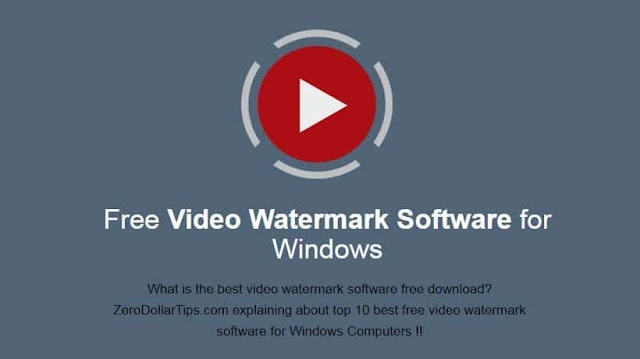 Top 10 Best Free Video Watermark Software for Windows