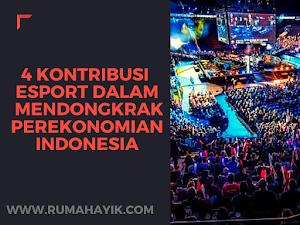 4 Kontribusi Esport Dalam Mendongkrak Perekonomian Indonesia