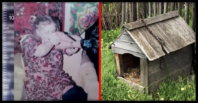 История Дуси Мерзляковой, которая прожила пол жизни в собачьей будке на цепи