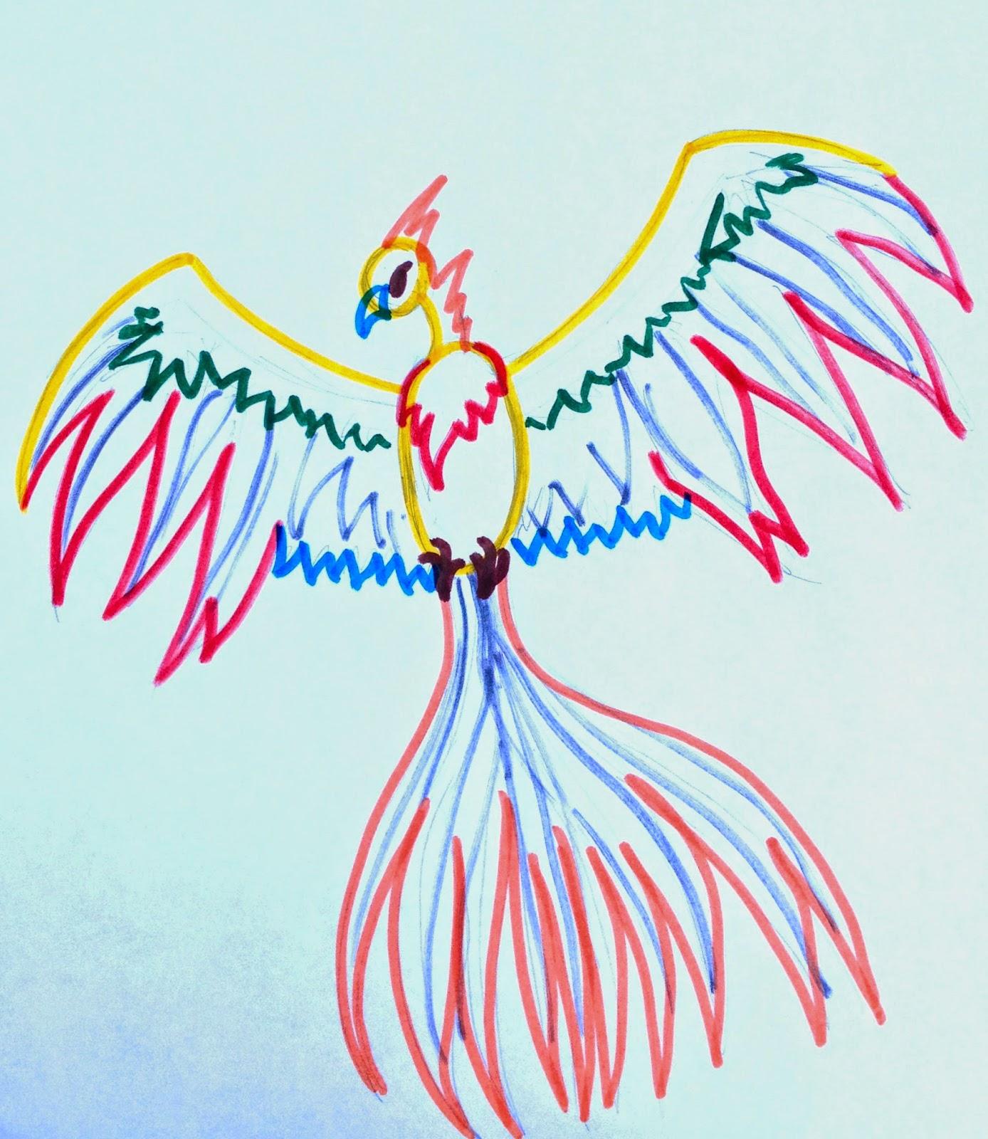 Simple Fantasy Creature Drawings