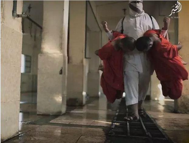 ISIS Rayakan Idul Adha Dengan Sembelih Tahanannya