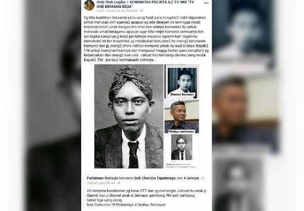 Wahyu Setiawan Dituduh Keturunan Tokoh PKI