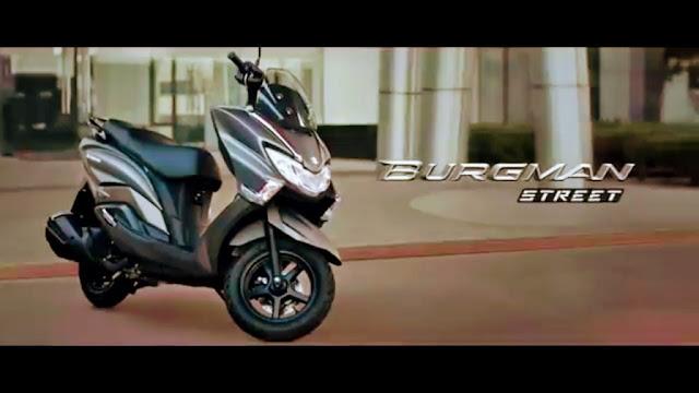 New 2018 Suzuki Burgman Street 125 wallpaper HD