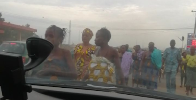 VIDEO: Topless Women Came Out To Pray Against Coronavirus