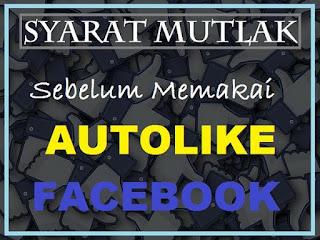 Syarat wajib sebelum pakai autoliker facebook