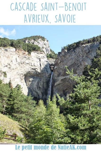 cascade Saint-Benoit Avrieux Maurienne