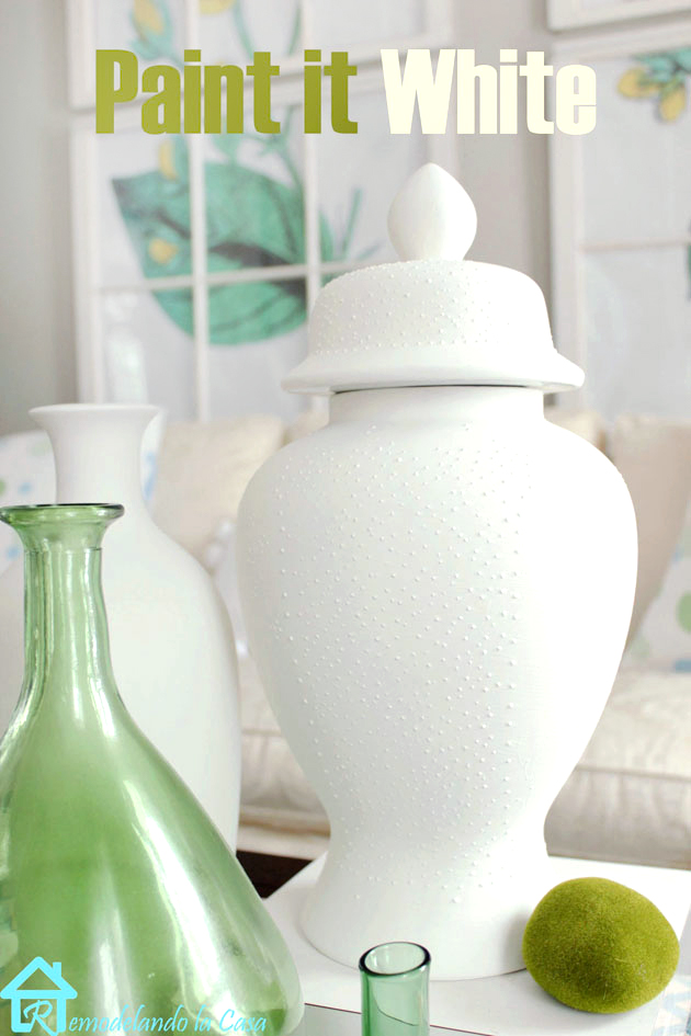 spring uplifting, green bottle, coffee table vignette