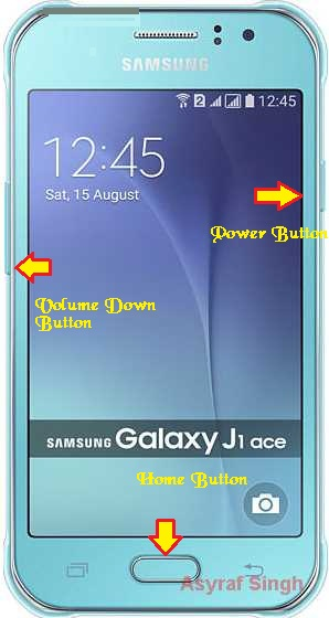 Guide To Flash Stock ROM Samsung GALAXY J1 ACE J110G Using