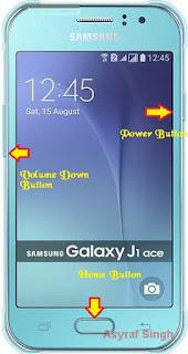 Download mode Samsung GALAXY J1 ACE (J110F)