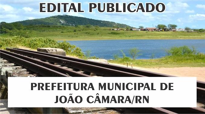 Prefeitura de João Câmara/RN e mais 03 municípios divulgam EDITAL de Concurso Público
