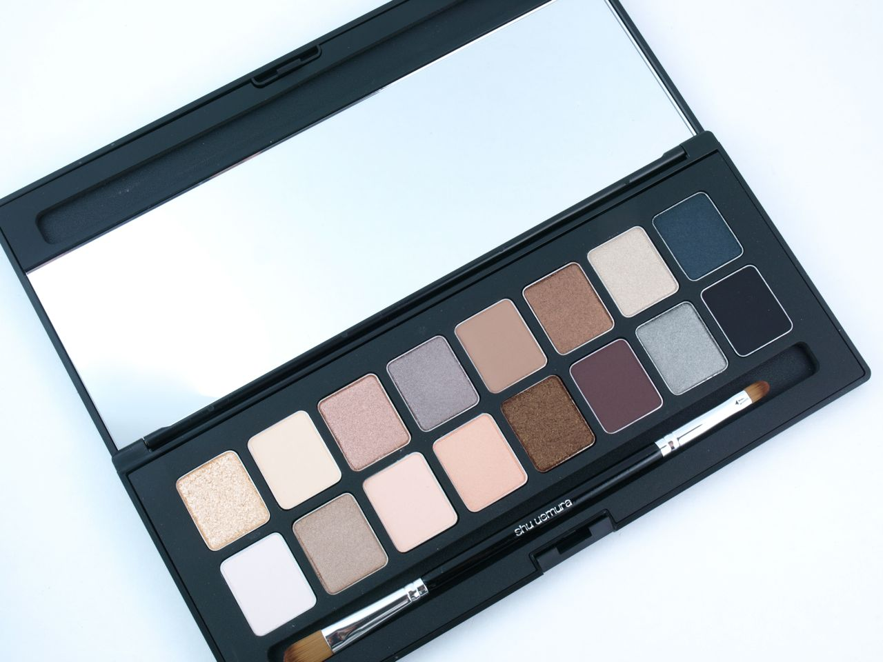 Shu Uemura Shu:Palette 16 Shades of Nude: Review and Swatches
