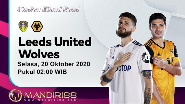 Prediksi Leeds United Vs Wolverhampton Wanderers, Selasa 20 Oktober 2020 Pukul 02.00 WIB @ Mola TV