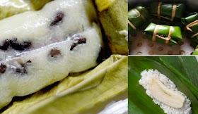 สูตรข้าวต้มมัด ทำกินเองได้ที่บ้านขนมไทยรสหวานมัน