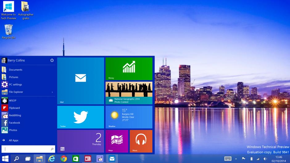 final version windows 10